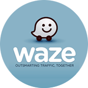 logo de l'application waze